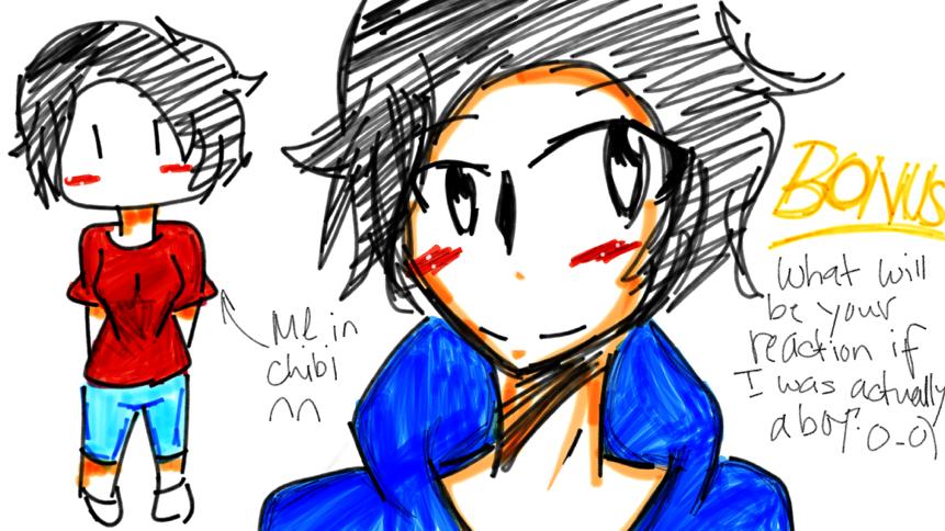 demiTHEdemi Request: Draw yourself in (sokawaiisugoisugoi) chibi ...