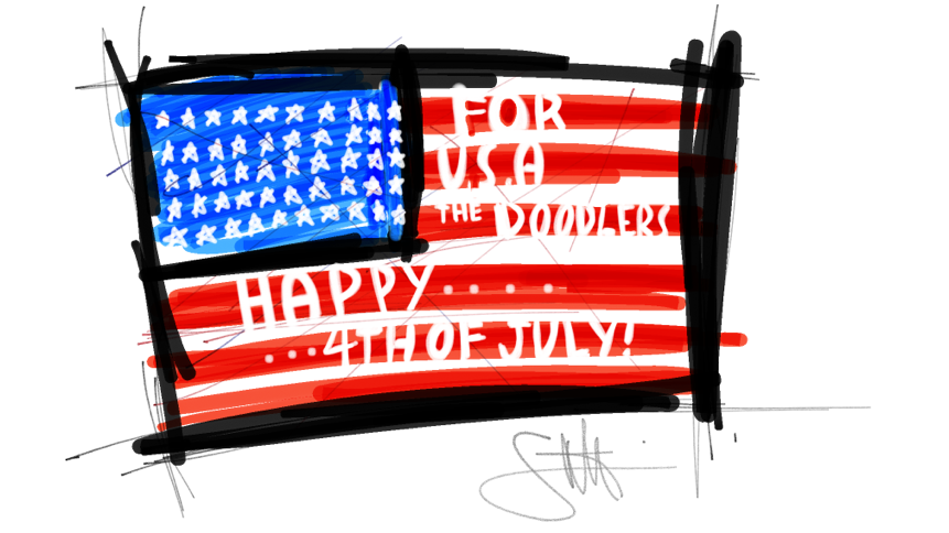 Happy Independence Day for U.S.A! 😃😃🍟🍕🍔🍺🎊🎉🎊🎉🎊🎉🗽